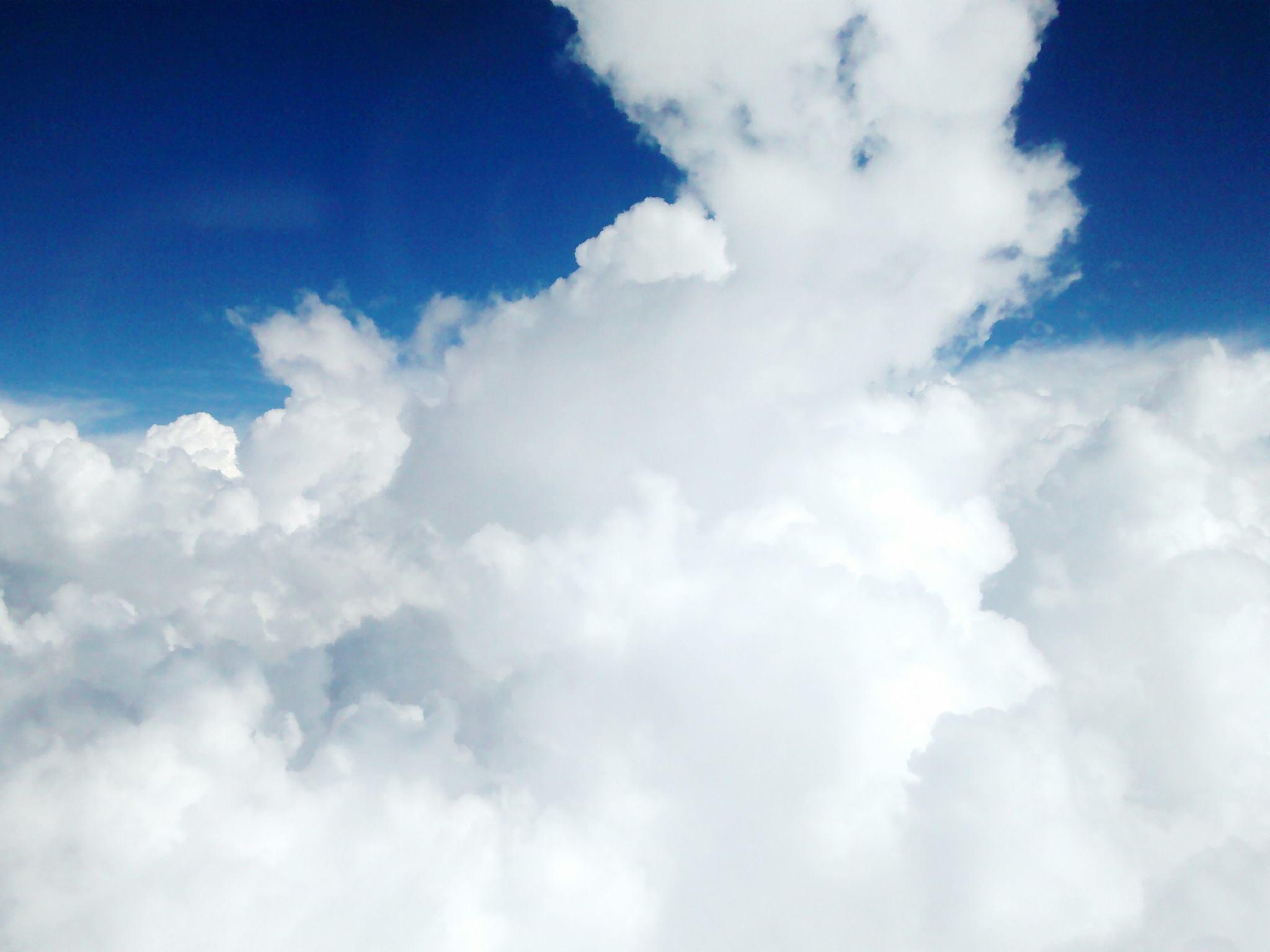 Carta en una nube