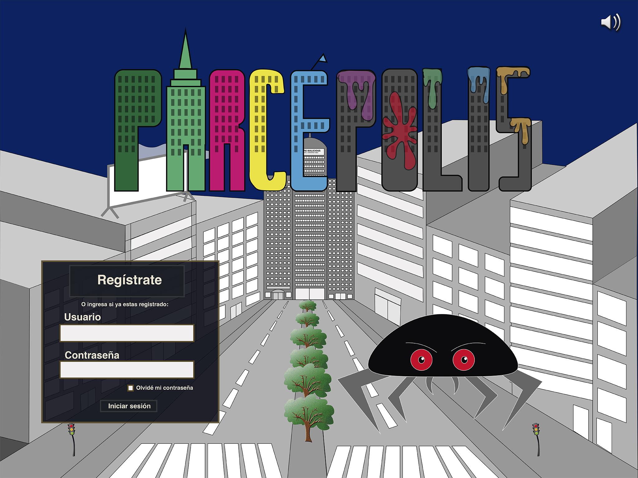 """Prototipo Videojuego """"Parcépolis"""""""
