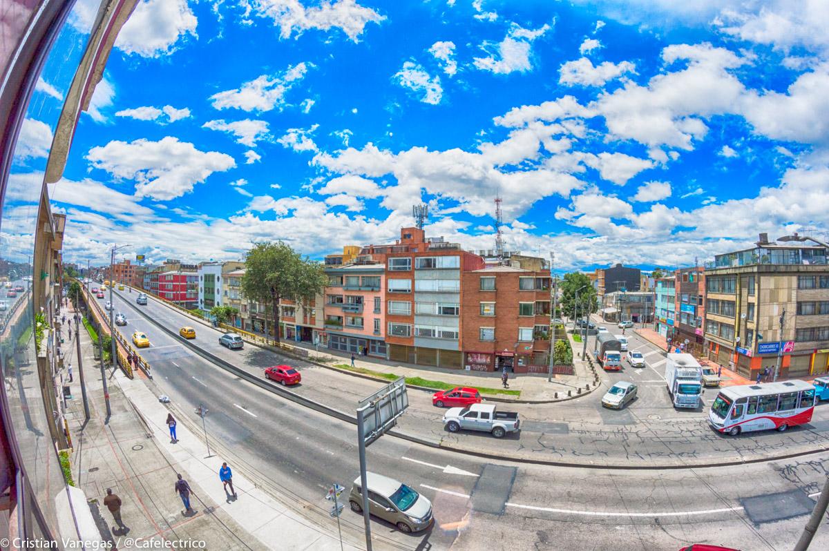 HDR Día Soleado Bogotá
