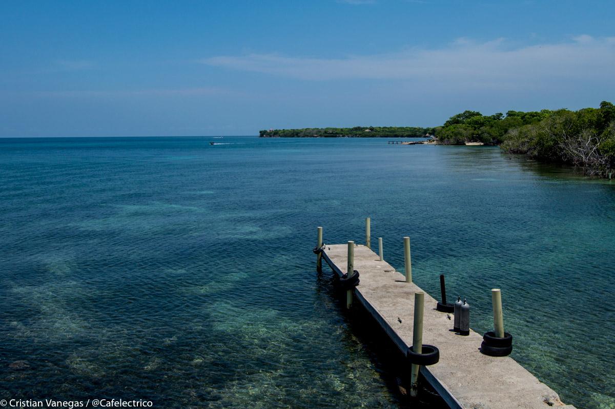 Isla Grande, Puerto