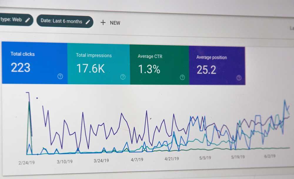 Estadísticas de Google Search Console